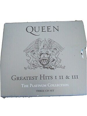 £6.99 • Buy Queen ~greatest Hits I Ii & Iii~ *the Platinum Collection* 3 Cd Boxset + Booklet