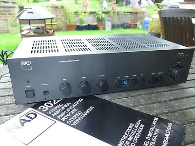£31 • Buy NAD 3020B HiFi Stereo Integrated Amplifier, Classic Audio Amplifier, Phono Input