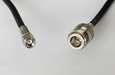 £35 • Buy 5m N Female To RP SMA Male LMR 400 Coax Cable For Bobcat 300 Rak Helium Antenna