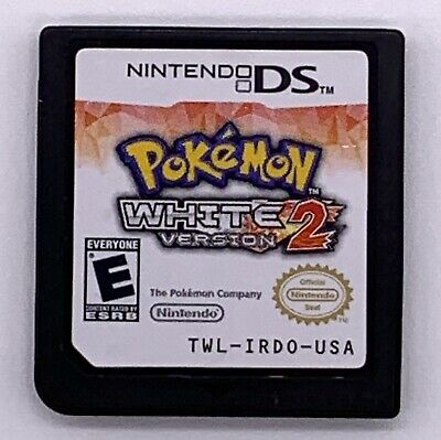 $115 • Buy Pokemon: White Version 2 (Nintendo DS, 2012) Authentic. Tested.