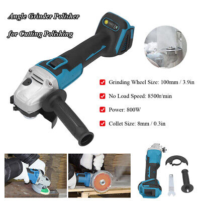 £41.99 • Buy Angle Grinder Polisher Cordless Grinding Machine 800W 8500r/min 8mm Collet Size