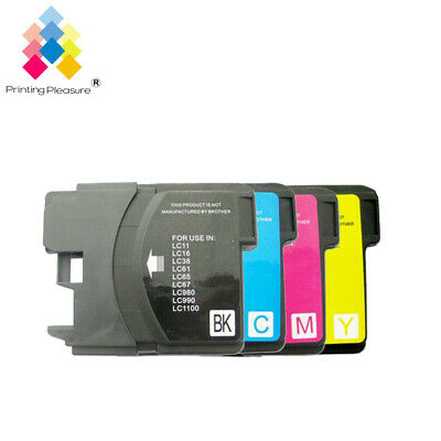 £4.89 • Buy 4 Ink Cartridge Fits Brother LC1100 DCP-395CN MFC-5895CW DCP-6690CW MFC-670CD