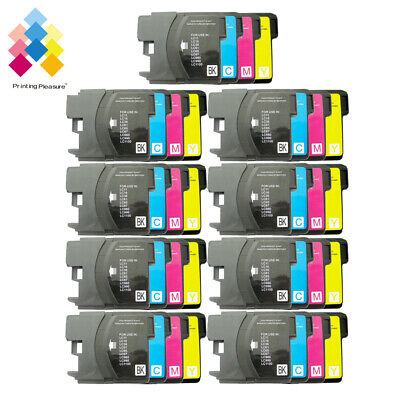 £14.99 • Buy 40 Ink Cartridge Fits Brother LC1100 DCP-395CN MFC-5895CW DCP-6690CW MFC-670CD