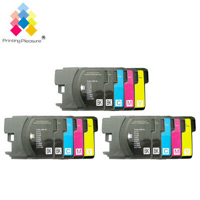 £7.59 • Buy 15 Ink Cartridge Fits Brother LC1100 DCP-395CN MFC-5895CW DCP-6690CW MFC-670CD