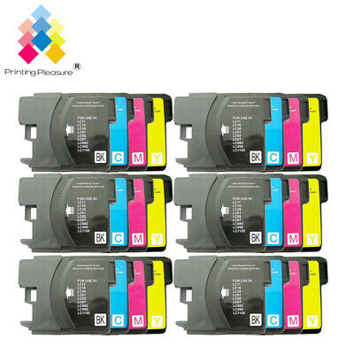 £9.99 • Buy 24 Ink Cartridge Fits Brother LC1100 DCP-395CN MFC-5895CW DCP-6690CW MFC-670CD