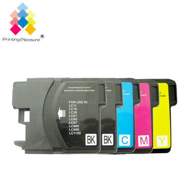 £4.98 • Buy 5 Ink Cartridge Fits Brother LC1100 DCP-395CN MFC-5895CW DCP-6690CW MFC-670CD