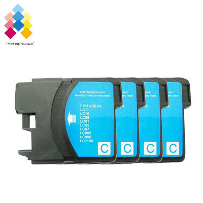 £4.89 • Buy 4C Ink Cartridge Fits Brother LC1100 DCP-395CN MFC-5895CW DCP-6690CW MFC-670CD