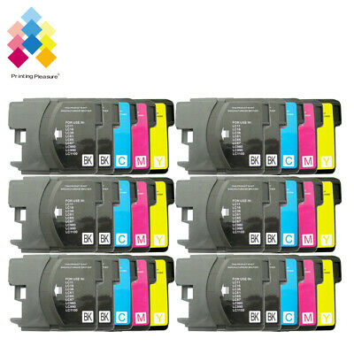 £11.99 • Buy 30 Ink Cartridge Fits Brother LC1100 DCP-395CN MFC-5895CW DCP-6690CW MFC-670CD