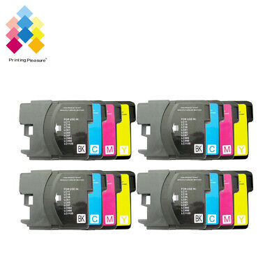£7.78 • Buy 16 Ink Cartridge Fits Brother LC1100 DCP-395CN MFC-5895CW DCP-6690CW MFC-670CD
