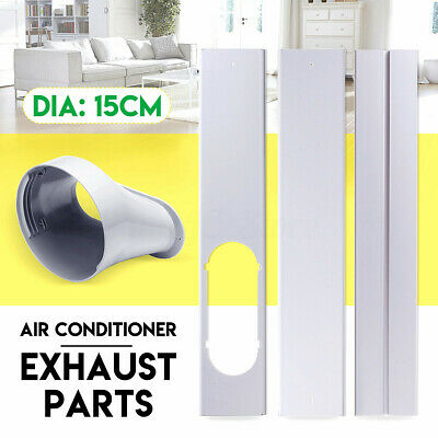AU15.71 • Buy For Portable Air Conditioner 2/3x Window Slide Kit Plate + Window Adapto