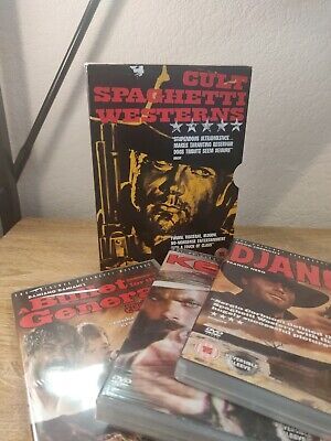 £15 • Buy The Cult Spaghetti Westerns Collection (Box Set) (DVD, 2010) (2 Disc Sealed)