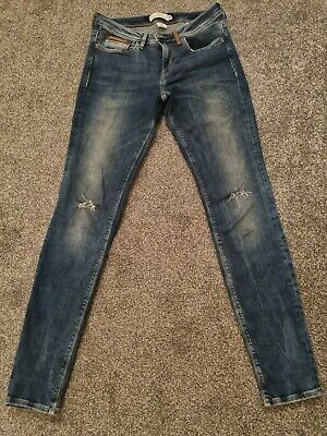 £2.50 • Buy Ladies H&M LOGG Ripped Denim Jeans Sise 12 - Good Condition