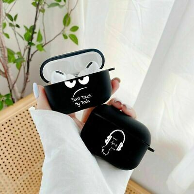 AU10.99 • Buy Cute  Simple Text Earphone For AirPods Pro 3 Case Cover 1 2 For Apple Earpods