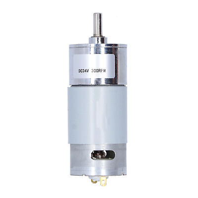 £13.33 • Buy Gear Motor Electric Reduction Central Axes Industrial Control 300RPM DC 24V 10W