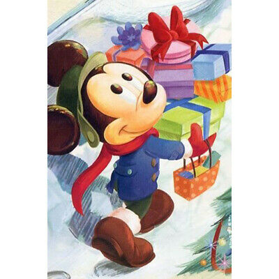 £5.99 • Buy 5D  Diamond Painting  Mickey Mouse Full Drill Embroidery Cross Stitch Gift DIY
