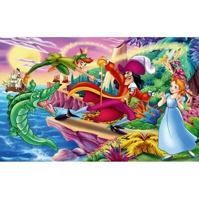 £5.99 • Buy 5D Diamond Painting Peter Pan Cross Stitch  Embroidery Children Kits Gifts