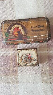 £10 • Buy 2 Rare Tins W&R Jacobs Biscuit Tin And Rowntree Elect Edwardian Cocoa Tin