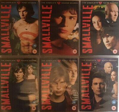 £9.99 • Buy Smallville Series 1 To 6. One To Six. Region 2. 36 Discs.