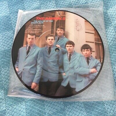 £6 • Buy The Animals: The House Of The Rising Sun 7  Picture Disc.
