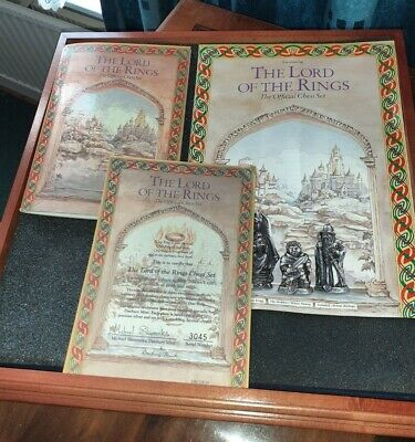 £150 • Buy Danbury Mint Ltd Ed The Lord Of The Rings Official Chess Set 1991 Collectable