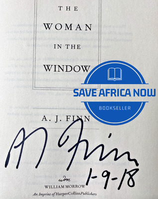 AU13.67 • Buy THE WOMAN IN THE WINDOW By A.J. Finn (2018) SIGNED+DATED  First / First Printing