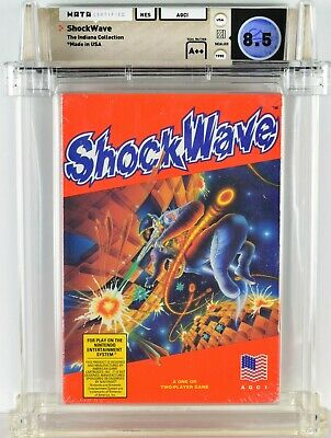 £197.43 • Buy Shockwave Nes Video Game Nintendo Indiana Collection 1990 Wata A++ 8.5 Free Ship