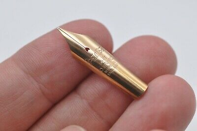 £12.57 • Buy Lovely Scarce Vintage Phillips Oxford Spare Fountain Pen Nib 14ct Gold Fine Tip