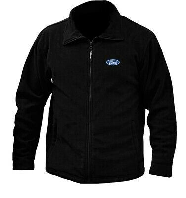 £15.99 • Buy Ford Logo MicroFleece Jacket Embroidered Ford Logo Embroidered Gift Bmw Audi