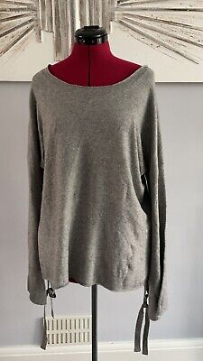 £12 • Buy Ladies Size Large Grey Knit Oversized Jumper. French Connection