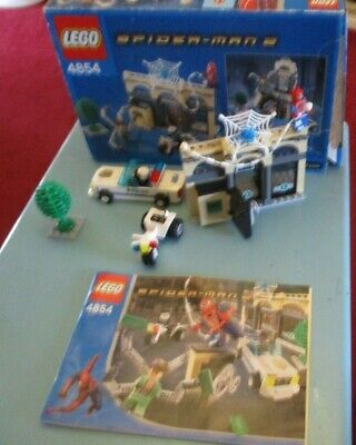 £20 • Buy Vintage Lego Spider - Man Spiderman 2 , 4854 Set Boxed With Instructions