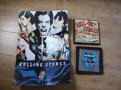 £14.99 • Buy Rolling Stones Limited Editon CD 7  Boxset With Poster Rock & Hard Place 4trkLTD