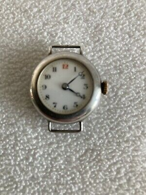 £15 • Buy Silver Trench Watch Officers WW1 925 Hallmarked Working Order