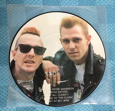 £16 • Buy The Clash - 7  Interview Picture Disc. Nice Copy.