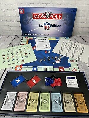 £11.63 • Buy Monopoly My NFL Edition 2006 Board Game Football Parker Brothers VGC