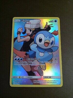 $11.50 • Buy Pokemon - Piplup 239/236 - SM Cosmic Eclipse - Secret Rare Character Card - NM