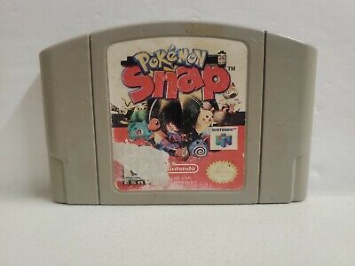 $22.99 • Buy Pokemon Snap Nintendo 64 N64 Authentic Tested & Working Fast Shipping