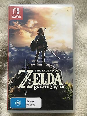 AU37 • Buy The Legend Of Zelda: Breath Of The Wild (Switch, 2017) - Like New - In Case