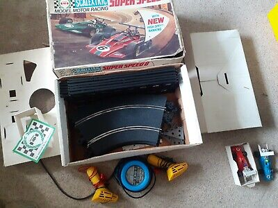 £54 • Buy Vintage Rare:  Scalextric  Super Speed  Boxed.. Cars Near Mint Condition