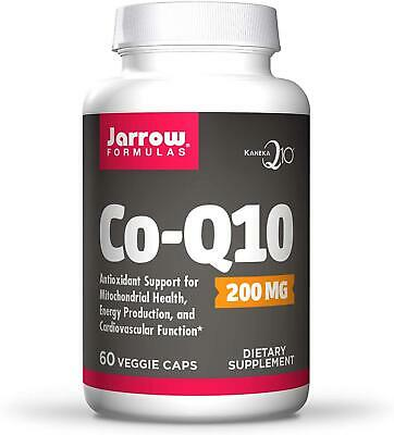 £23.26 • Buy Jarrow Formulas CoEnzyme Q10 200mg 60 Veggie Capsules, Heart And Energy Support