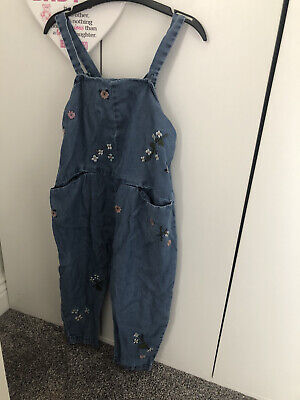 £3.20 • Buy Girls Next Jumpsuit Dungarees 2-3 Years