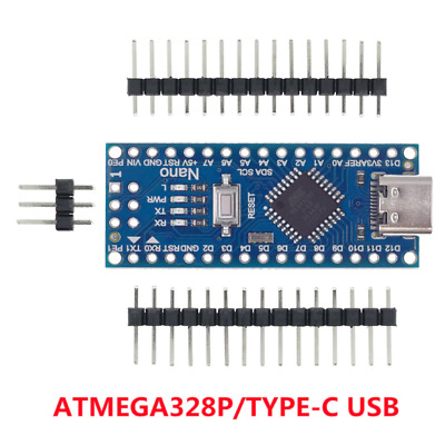 £6.99 • Buy Arduino Type-C To USB Nano 3.0 With The Bootloader (EK11)
