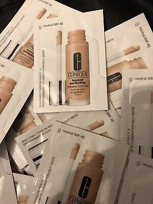 £1.04 • Buy Clinique Beyond Perfecting Foundation + Concealer 'neutral' 15 Sachets New