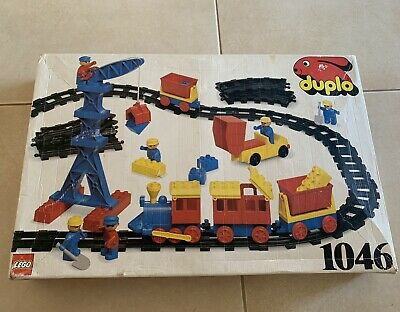AU300 • Buy Lego Duplo Train Set 1046 From 1986 - Rare And Complete