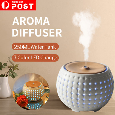 AU89.99 • Buy Ultrasonic Essential Oil Mist Diffuser/Aroma Therapy/Light 7 Color LED Light AU