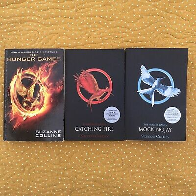 £6.50 • Buy The Hunger Games Trilogy Collection Catching  Fire Mockingjay 3 Book Set Bundle