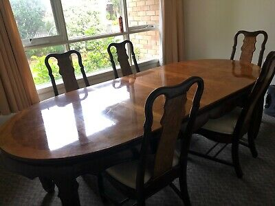 AU36 • Buy Antique Dining Table And Chairs