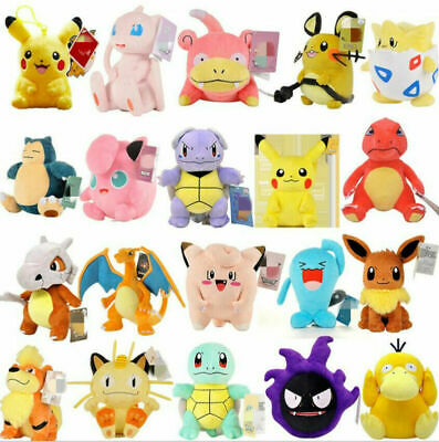 £6.97 • Buy Hot Kids Collectible Pokemon Plush Character Soft Toy Stuffed Doll Teddy Gifts