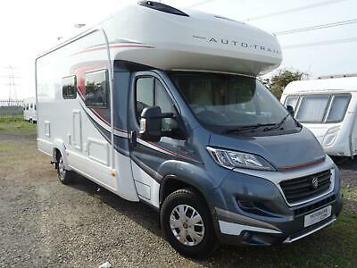 £49999 • Buy Auto Trail Tracker FB 2018 4 Berths 2 Seat Belts Rear Fixed Bed For Sale