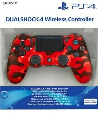 £35 • Buy PS4 Wireless Controller (Camo Red)