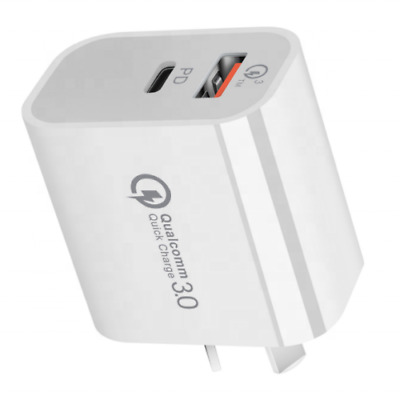 AU11.99 • Buy PD 18W AU Plug USB-C Type C Fast Wall Charger Adapter For IPhone 12 11 Android